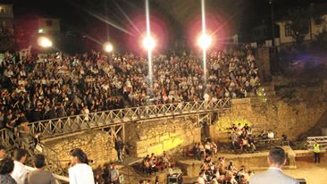 Bildet er fra Ohrid Summer Festival, Makedonia.
